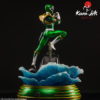 Picture 4 of the Green Ranger statue by Kami Arts