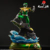 Picture 6 of the Green Ranger statue by Kami Arts