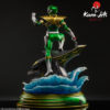 Picture 7 of the Green Ranger statue by Kami Arts