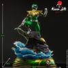 Picture 17 of the Green Ranger statue by Kami Arts