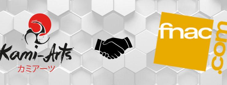 Partenariat entre la FNAC et Kami-Arts